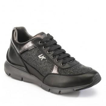 Фото Кроссовки Sneaker Low Cut Lace (SW11305-004-CB001), Цвет - черный, Кроссовки