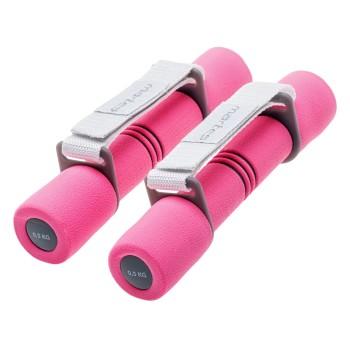 Фото Гантеля BELDO (BELDO-PINK/GREY), Цвет - розовый, серый, Спортивные товары