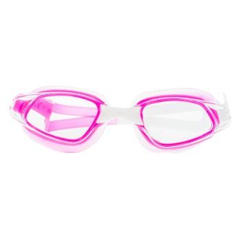 Фото Очки для бассейна GURAMI JR (GURAMI JR-PINK/WHITE/TRANSPAR), Цвет - розовый, белый, прозрачный, Очки