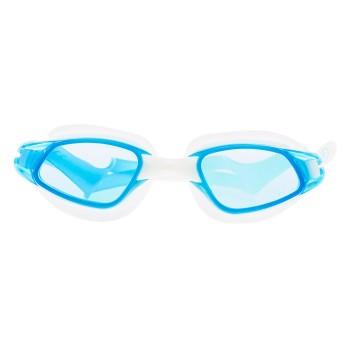 Фото Очки для бассейна GURAMI JR (GURAMI JR-TURQ/WHT/TRANSPAR), Цвет - бирюзовый, белый, прозрачный, Очки