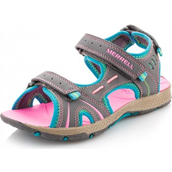 Фото Сандалии PANTHER SANDAL Kid's Sandals (53428), Цвет - серый, розовый, Сандалии