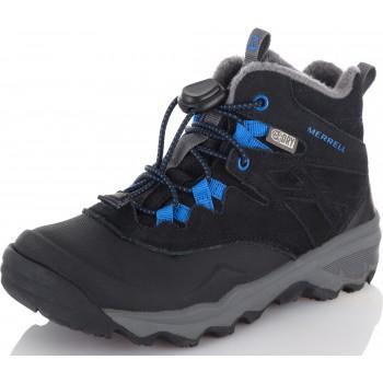 Фото Ботинки M-THERMOSHIVER Kids' insulated boots (MK260347), Цвет - черный, синий, Городские ботинки