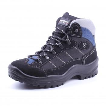 Фото Ботинки 10606SV3G (01060641), Цвет - черный, голубой, Городские ботинки