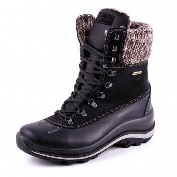 Фото Ботинки высокие 12303DV42LG (0123031), Цвет - черный, Городские ботинки