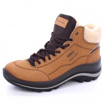 Фото Ботинки 12309NV11LG (12309NV11LG), Цвет - бежевый, Городские ботинки