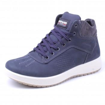 Фото Ботинки 43605CV19G (04360511), Цвет - голубой, Городские ботинки