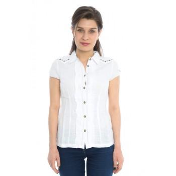 Фото Блуза Nala Leinen Kurzarmbluse (0717116), Туники и блузы