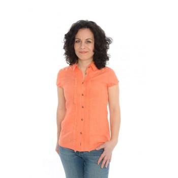 Фото Блуза Nala Leinen Kurzarmbluse (0717199), Туники и блузы