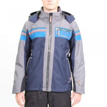 Фото Куртка г/л Alwin Schijacke (0805514), Цвет - темно-синий, голубой, Горнолыжные куртки