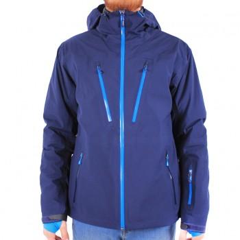 Фото Куртка горнолыжная 3L Hr Jacke Performance SMU (0823414), Цвет - морской, Горнолыжные и сноубордные