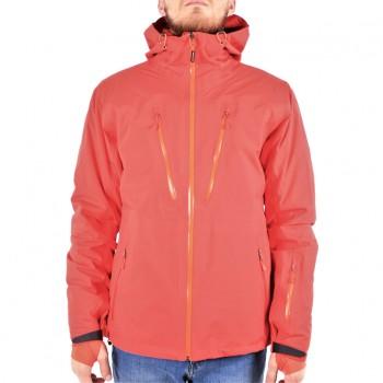 Фото Куртка горнолыжная 3L Hr Jacke Performance SMU (082342), Цвет - красный, оранжевый, Горнолыжные и сноубордные