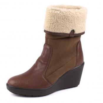 Фото Полусапоги 5804 UKR HC LS Boot SMU (084080), Цвет - коричневый, Городские ботинки