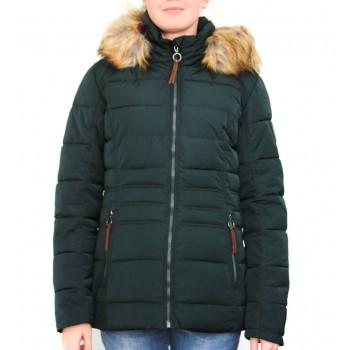 Фото Куртка утепленная Nela Jacke (0852719), Цвет - темно-зеленый, Городские