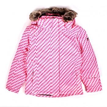Фото Куртка горнолыжная NENA KIDS GIRLS JACKET SMU (085285), Цвет - розовый, Горнолыжные и сноубордные