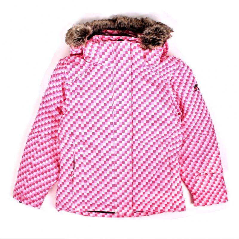 Купить Горнолыжные и сноубордные, Куртка горнолыжная nena kids girls jacket smu (085285), Northland, Розовый, Осень-Зима 2017-2018
