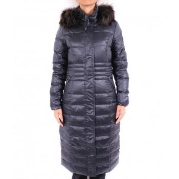 Фото Пальто пуховое Marion Daunenmantel (0854214), Цвет - темно-синий, Пальто