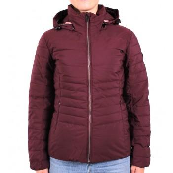 Фото Куртка стеганная Ivonne Jacke (0858024), Цвет - бордовый, Стеганные куртки
