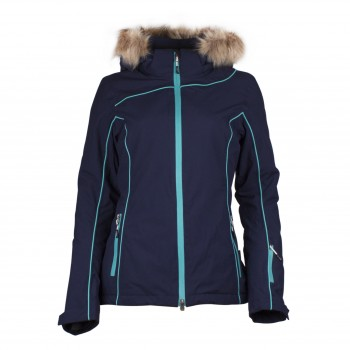 Фото Куртка горнолыжная NLF LS Schijacke (0871014), Цвет - темно-синий, Горнолыжные и сноубордные