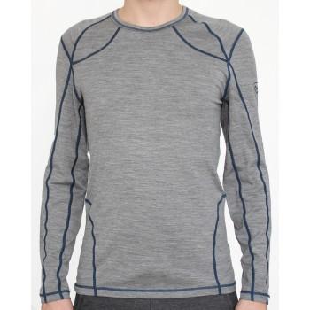 Фото Фуфайка MERINO190 Sano Langarm T-shirt (087563), Цвет - серый, Фуфайки