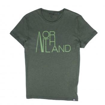 Фото Футболка Dan T-Shirt (0880060), Цвет - зеленый, Футболки