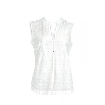 Фото Блуза Lilo Blusentop (0885316), Цвет - белый, принт, Туники и блузы
