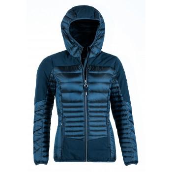 Фото Куртка стеганная Jolina Daunenjacke (0906814), Цвет - темно-синий, Стеганные куртки