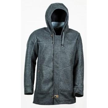 Фото Полупальто Ignaz Wollfleece-Parka (0914723), Цвет - темно-серый, Городские куртки