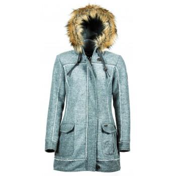 Фото Полупальто Inesa Wollfleece-Kurzmantel (0914858), Цвет - серый, Пальто