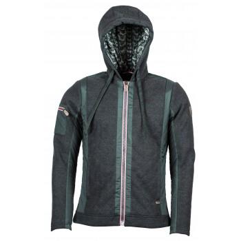 Фото Куртка стеганная Ivor Woll-Steppjacke (0914923), Цвет - темно-серый, Стеганные куртки