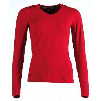 Фото Футболка с длинным рукавом Active Str Lite Livria LAShirt (092252), Цвет - красный, Футболки с длинным рукавом