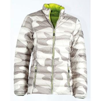 Фото Куртка стеганная Loryana Daunen Jacke (0924568), Цвет - бежевый, серый, Стеганные куртки