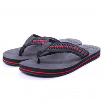 Фото Сланцы Heiko M?s Sandal (092700), Цвет - черный, красный, Сланцы и тапки