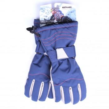 Фото Перчатки горнолыжные NLF Mila Funktionshandschuhe (0936633), Цвет - синий, Горнолыжные перчатки