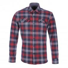 Рубашка с длинным рукавом Nicos Flanellkaro-Langarmhemd