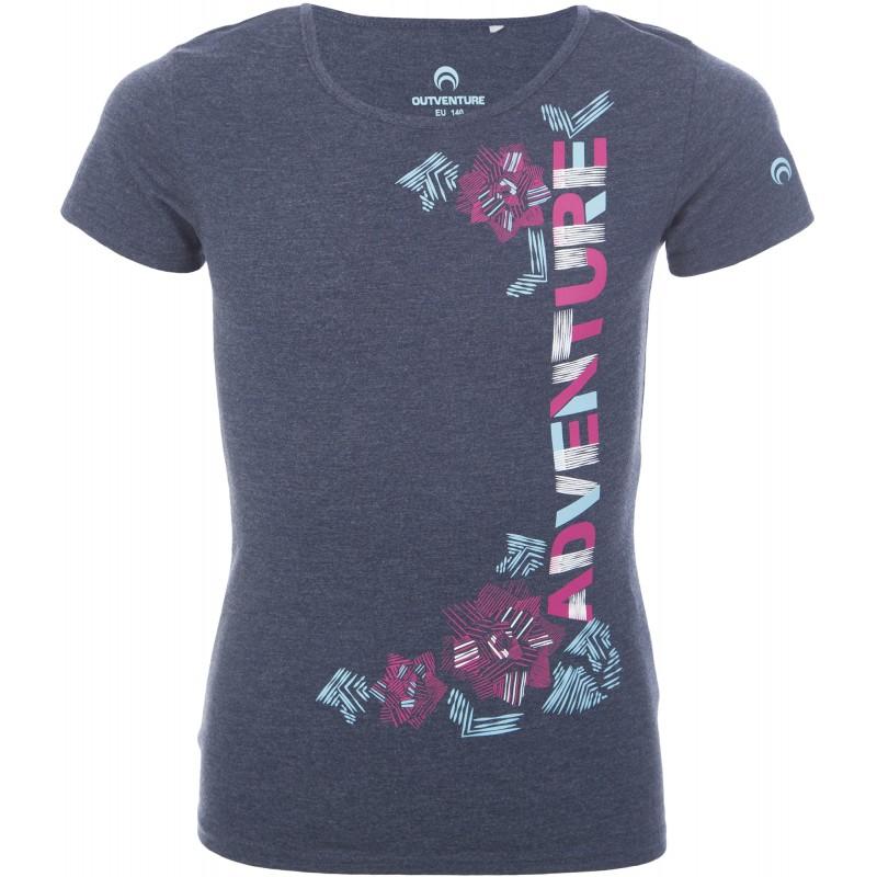 Купить Футболки, Футболка girl's t-shirt (100228-Z4), Outventure, Темно-Синий, Весна-Лето 2019