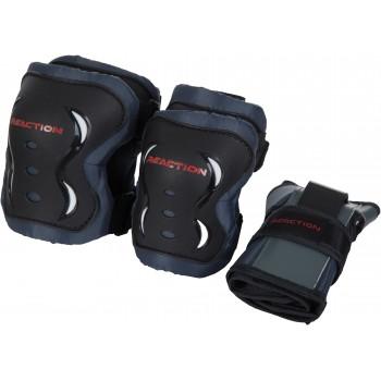 Фото Защитый набор PR1 M 3-pack protective set (PR113-B), Цвет - черный, Спортивные товары