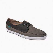 Мокасины REEF DECKHAND LOW BLACKCHARCOAL