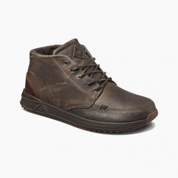 Фото Ботинки REEF ROVER MID WT SLATE (RA3623SLE), Цвет - серый, Городские ботинки