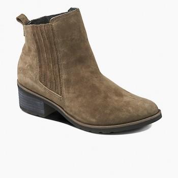 Фото Ботинки REEF VOYAGE BOOT CARBON (RA362CCAO), Цвет - темно-серый, Городские ботинки