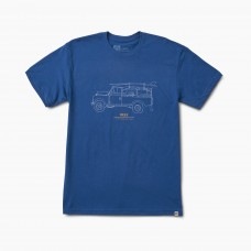Футболка REEF EXPEDITION TEE BLUE