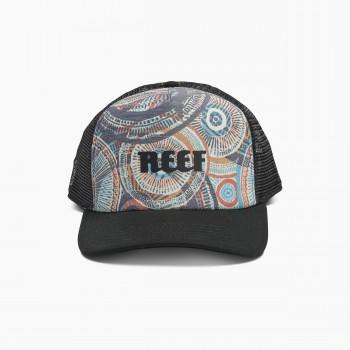 Фото Кепка REEF COLORS HAT BLACK (RA3F98BLA), Цвет - черный, Кепки