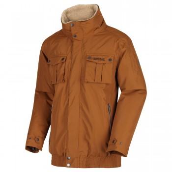 Фото Куртка утепленная Ralston (RMP278-2GS), Цвет - коричневый, Городские куртки