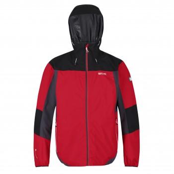 Фото Ветровка Imber VI (RMW336-02A), Цвет - красный, черный, магнитный, Ветровки
