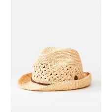 Шляпа CROCHET STRAW FEDORA
