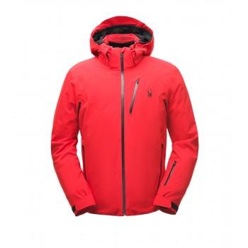 Фото Куртка горнолыжная ALYESKA (181710-620), Цвет - красный, черный, Горнолыжные и сноубордные