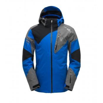Фото Куртка горнолыжная LEADER (181718-482), Цвет - синий, черный, Горнолыжные и сноубордные