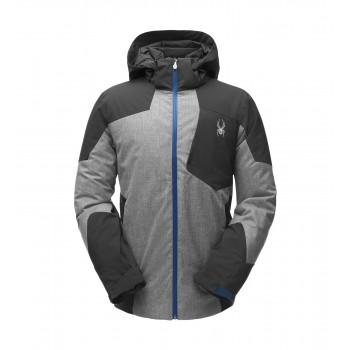 Фото Куртка горнолыжная CHAMBERS (181732-089), Цвет - черный, серый, синий, Горнолыжные и сноубордные