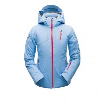 Фото Куртка горнолыжная HERA (182722-451), Цвет - голубой, красный, Горнолыжные и сноубордные