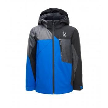 Фото Куртка горнолыжная BOY'S AMBUSH (183020-499), Цвет - синий, серый, черный, Горнолыжные и сноубордные