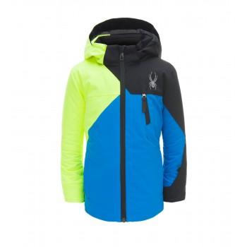 Фото Куртка горнолыжная MINI AMBUSH (183510-434), Цвет - синий, желтый, черный, Горнолыжные и сноубордные